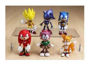 Sonic Kit Com 6 personagens Desenho do Sonic
