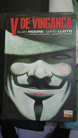 V de Vingança Alan Moore - Edição Definitiva.