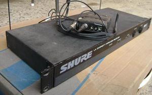 Microfone Sem Fio Shure Auricular 2 Antenas