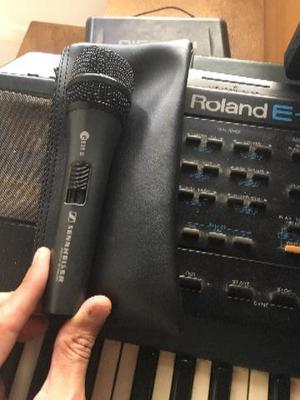 Microfone Sennheiser E835 Dinâmico Cardioide para