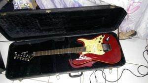 V ou T Guitarra mais case em violão de Nylon