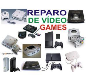Assistencia Técnica e Manutenção de Vídeo Games
