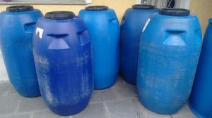 Barril de 240 litros com tampa de rosca, para armazenar