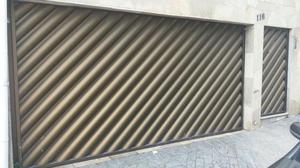 Portão e porta de alumínio