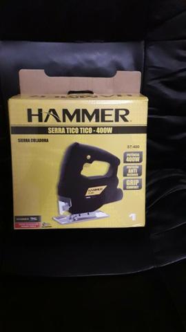 Serra Tico Tico 400w Madeira Alumínio Aço Hammer 220v