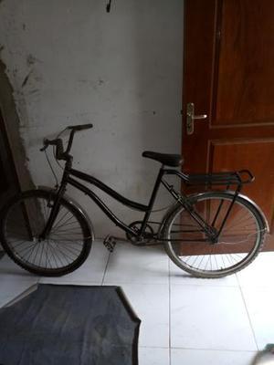 Bike usada aro 26,paralamas inox,garupa,v-brakes
