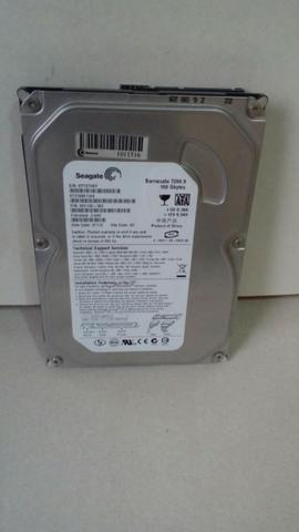 Hd Seagate Barracuda Sata 160gb Para Desktop