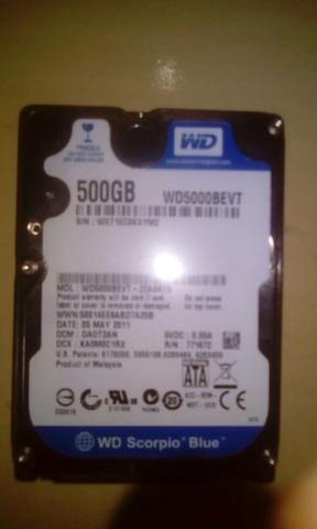 Hd notebook 500gb