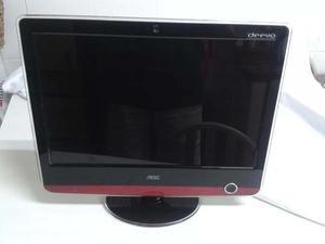Monitor Lcd 17 Pol Widescreen Multimidia - Aoc V17