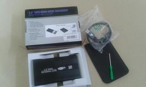 Vendo case SATA 3.0 com HD de 500 GB de Notebook