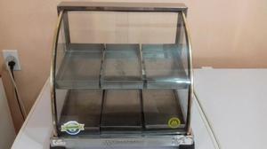 Estufa para salgados 6 bandeijas dupla marchesoni