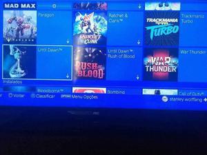 PS4 Slim 500GB com 26 jogos