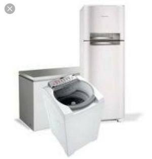 Refrigeração em geral (geladeiras) e lavadoras