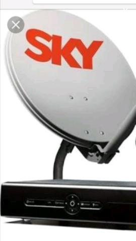 TV acabo Sky, instalação e Reinstalação de Antenas