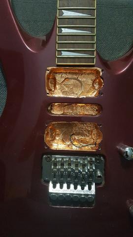 Guitarra Samick Artist Series sem caps - Estudo trocas