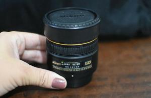 Lente Nikon 10.5mm F/2.8g Af Dx Fisheye Ed - Olho De Peixe