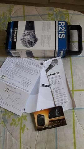 Microfone Samson R21S - Pouquissímo Usado - Aceito Ofertas