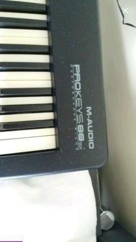 Teclado/Controlador M Audio ProKeys 88sx