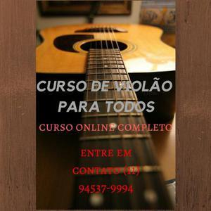 Curso completo de violão para todos os tipos de pessoas