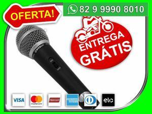 Microfone Profissional Dinamico Especial M-68 com Fio -Novo-