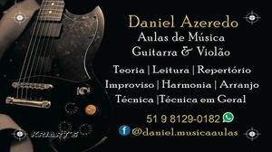 Aulas de Violão e Guitarra Canoas