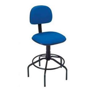 Cadeira secretaria giratória caixa aro fixo