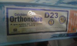 Cama box completa colchao ortobom d 23