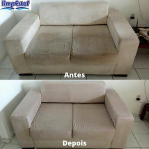Limpe seu sofá com a limpestof