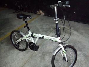 Bicicleta Dobrável Aro 20 Semi-NovaTrack Bikes