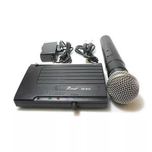 Kit Microfone Sem Fio Profissional Knup Kp-910 importado
