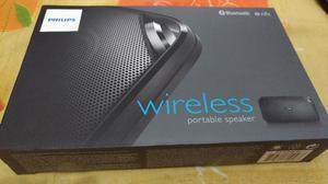 Caixa de som Bluetooth Philips BTB nova, na caixa