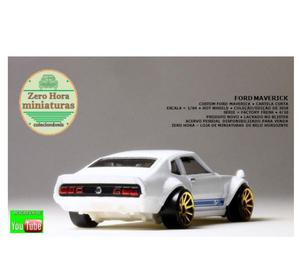 Miniatura Ford Maverick Custom - Hot Wheels 164