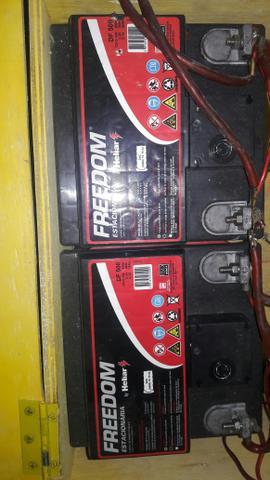 Vendo ou troco bateria por usina de 150 ah