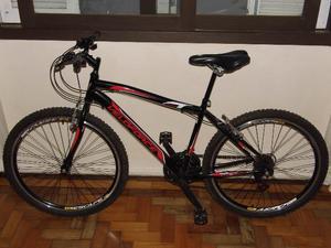Bike Veloforce aro 26 linda leve solta veloz regulada