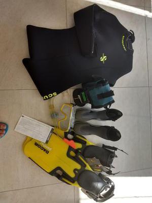 Kit para mergulho completo