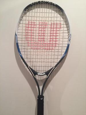 Vendo Raquete de Tenis Wilson US Open 25 Infantil Usada
