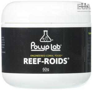 Polyplab Reef-Roids ReefRoids Coral Food 60g Alimento Corais
