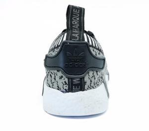Tênis Adidas NMD R1 Rajado Grafite