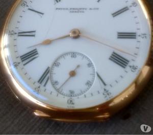 Relógio marca patek Philippe bolso 19 linhas ouro