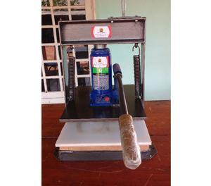 2 Produtos. Máquina de cortar Chinelos e Fresadora de Furos