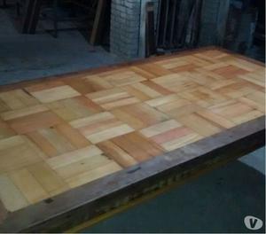 Móveis rústicos em madeira de demolição