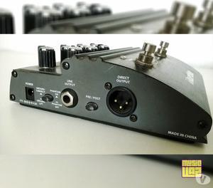 Pedal Hartke VXL Bass Attack Tone-Shaper Pré-Amp Baixo