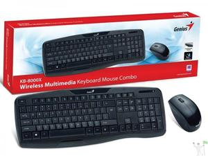 Teclado e Mouse Wireless Genius