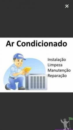Instalação, Manutenção e Limpeza Ar condicionado Split