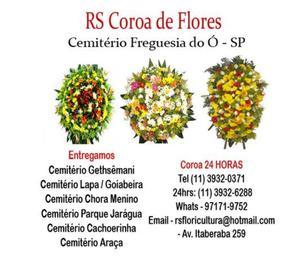 COROA DE FLORES CACHOEIRINHA