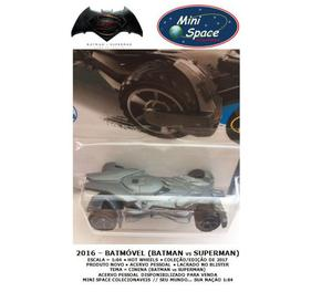 Hot Wheels  Batmóvel (Batman x Superman) Miniatura 164