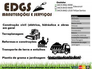 terra planagem e serviços de obras em geral