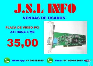 Placas Vídeo Pci