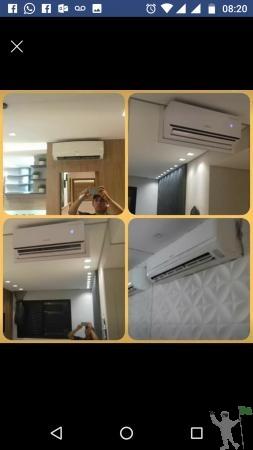 Instalação de ar condicionado e Assistência técnica