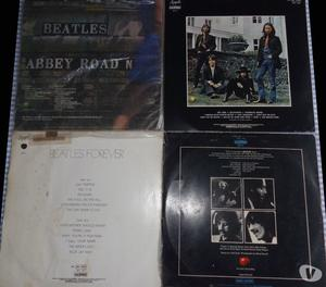 4 LPs Beates - Abbey, Let it Be